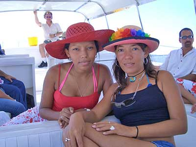 Two lovely Cartagena women